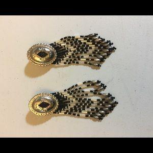 Southwestern Concho pierced earrings